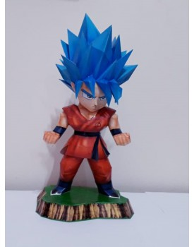 Goku Sayajin Blue  ( Dragon Ball Z )