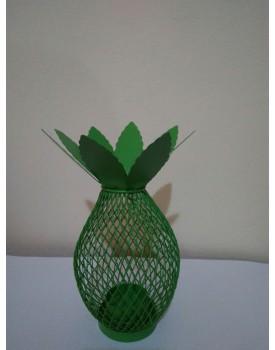 Abacaxi metal verde