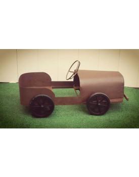 Carro de ferro Vintage para chão