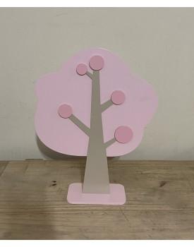 Árvore Decorativa Rosa Claro  tam G