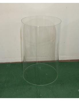 Cilindro de Acrílico Tam 80 cm de altura x 50 cm diâmetro