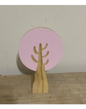 Árvore decorativa Pinus Rosa Claro