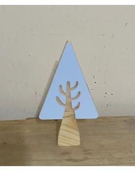 Árvore decorativa Pinus Azul Claro
