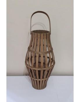 Lanterna torneada de Bambu