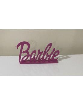 Letreiro Decorativo Barbie