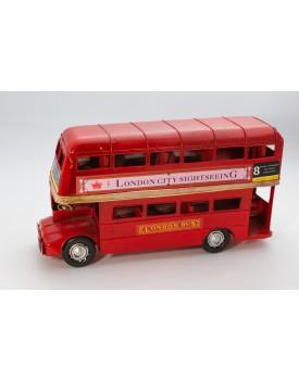 Ônibus Londrino Vintage Metal