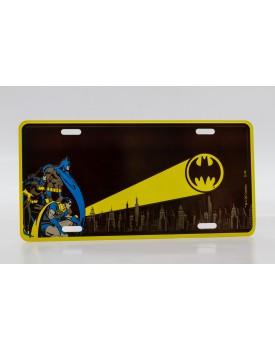 Placa Metálica Batman Tam P