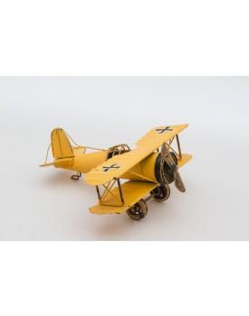 Avião metal amarelo Tam P