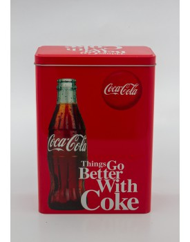 Pote Metal Coca-cola