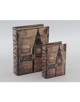 Duo de Livros Londres