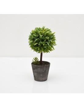 Mini árvore Artificial com vasinho rústico