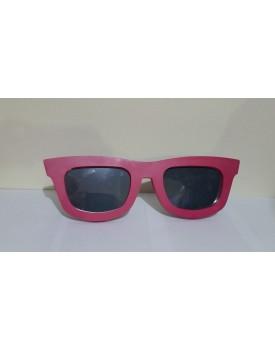 Óculos decorativo rosa