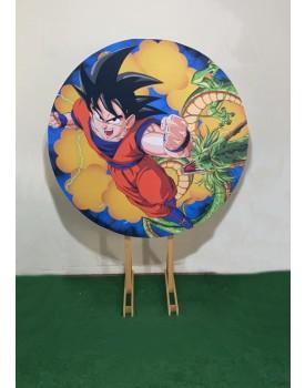 Combo Capa Dragon Ball + Estrutura Circular 1,50 x 1,50