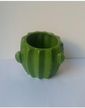 Pote Cacto cerâmica