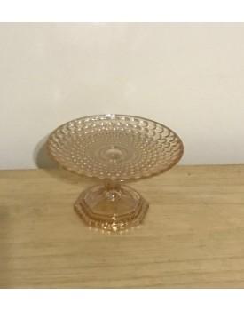 Mini Prato Âmbar de vidro
