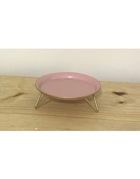 Vaso de Cristal Murano Trouxinha Torcello PP - Pink