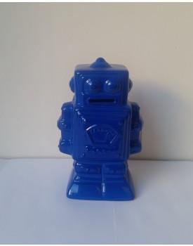 Robo de cerâmica Azul