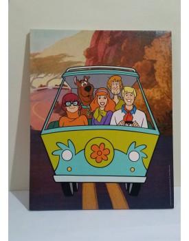 Quadro Decorativo Tela Scooby Doo Tam G