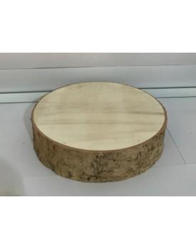 Bandeja Tronco lascas de árvore artificial Tam M