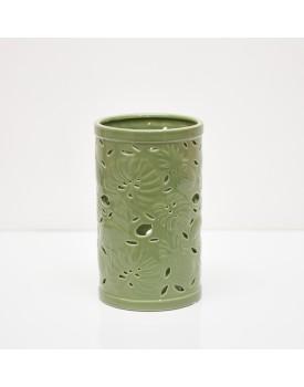 Vaso de cerâmica  Folha